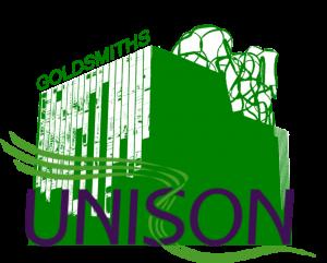 Goldsmiths UNISON logo