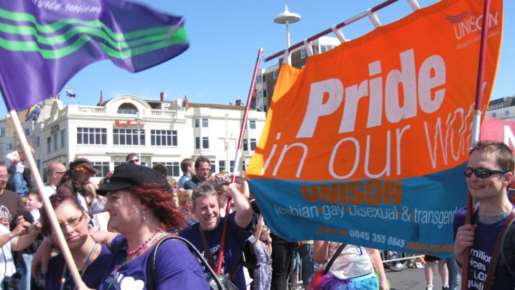 London LGBT Pride – Statement of solidarity